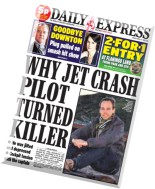 Daily Express - Friday, 27 March 2015