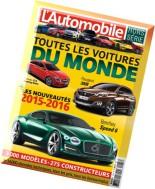 L'Automobile Magazine Hors-Serie N 58