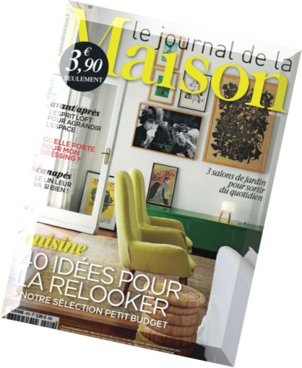 download le journal de la maison n 472 avril 2015 pdf magazine. Black Bedroom Furniture Sets. Home Design Ideas