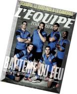 L'Equipe Magazine N 1706 - 28 Mars 2015