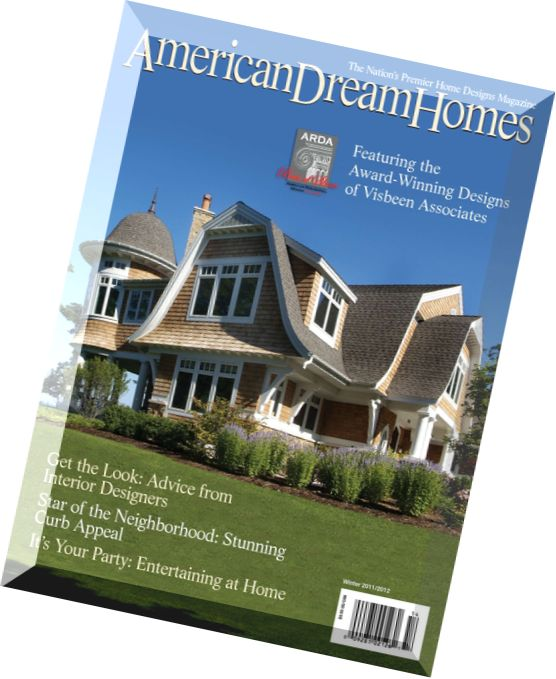 Download american dream homes magazine 2012 edition pdf for Dream homes magazine