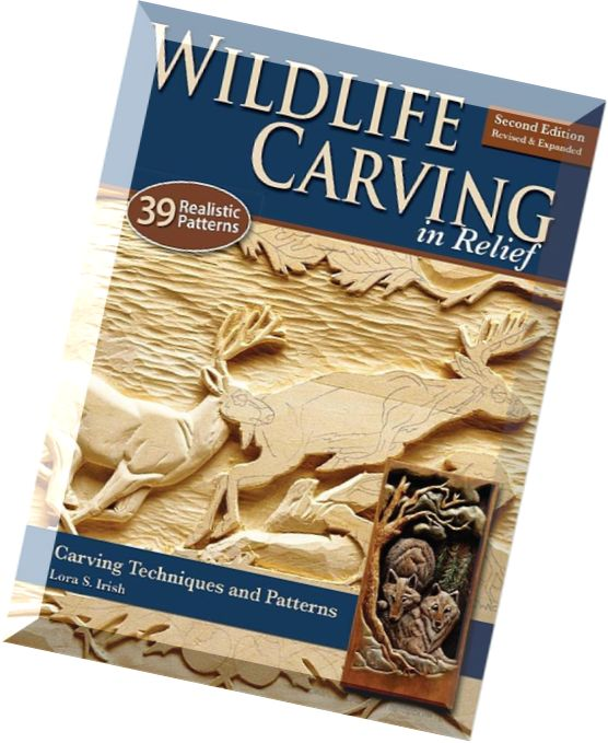 Download wildlife carving in relief techniques and