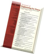 Journal of Engineering for Gas Turbines and Power 1983 Vol.105, N 3