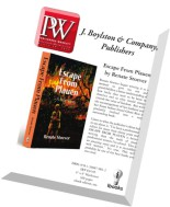 Publishers Weekly - 30 March 2015