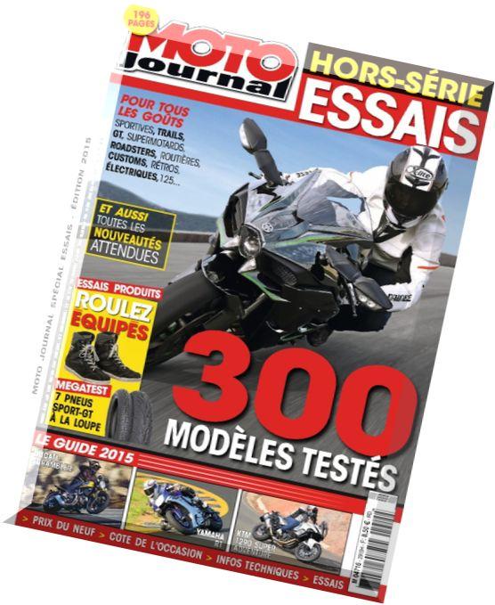 download moto journal hors serie special essais 2015 pdf magazine. Black Bedroom Furniture Sets. Home Design Ideas