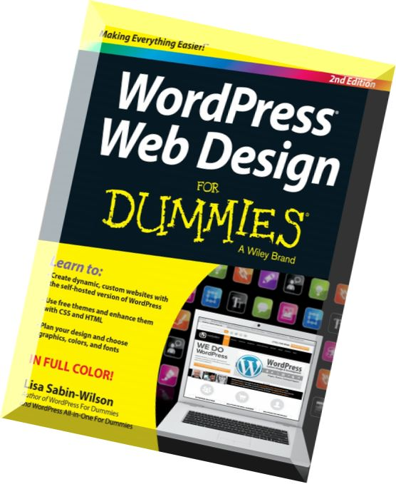 download wordpress web design for dummies 2nd edition