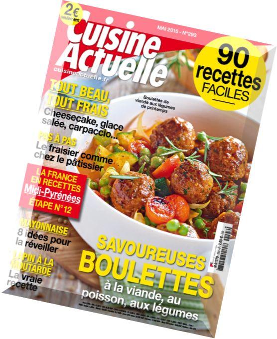 Download cuisine actuelle n 293 mai 2015 pdf magazine for Cuisine actuelle