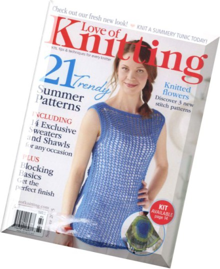 Knitting Summer 2015 : Download love of knitting summer pdf magazine