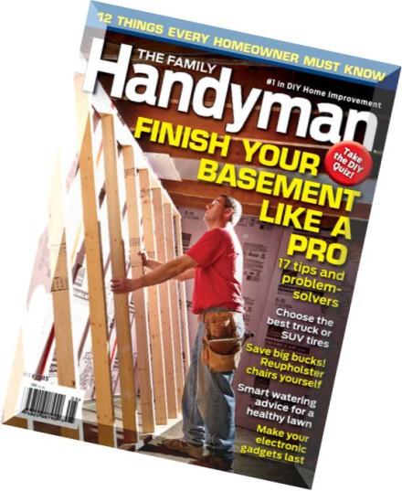 Download The Family Handyman Usa May 2015 Pdf Magazine