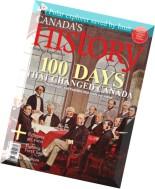 Canada's History - October-November 2011