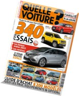L'Automobile Quelle Voiture N 32 - Printemps 2015