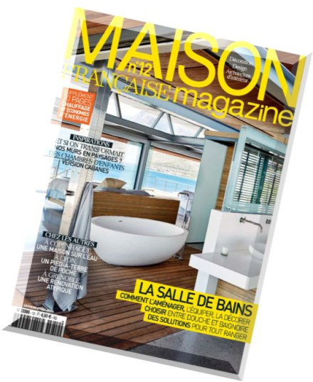 Download maison francaise magazine n 12 avril 2015 pdf for Magazine maison francaise