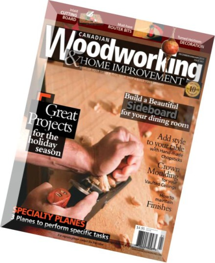 Download Canadian Woodworking Issue 63 - PDF Magazine