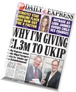 Daily Express - Friday, 17 April 2015