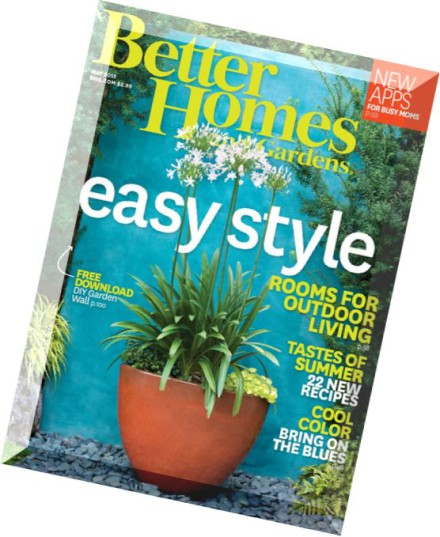 Download Better Homes And Gardens Usa May 2015 Pdf
