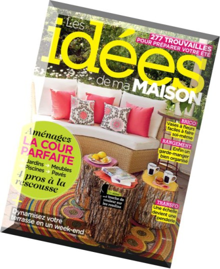 Download les idees de ma maison mai 2015 pdf magazine - Maison idees magazine ...