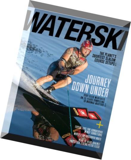WaterSki Magazine May 2008 - Will Asher - Ski Strong Master Slalom's Mental Game