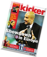 Kicker Magazin N 34, 20 April 2015