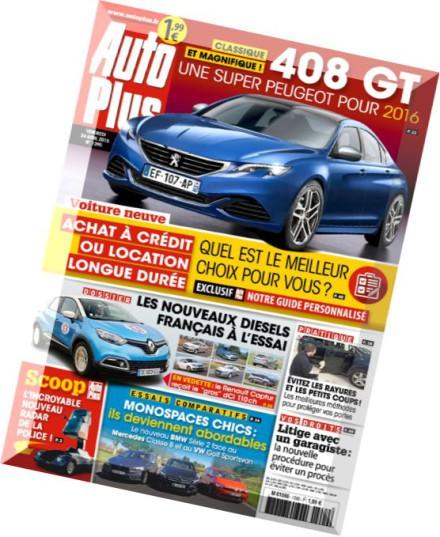 download auto plus n 1390 24 au 30 avril 2015 pdf magazine. Black Bedroom Furniture Sets. Home Design Ideas