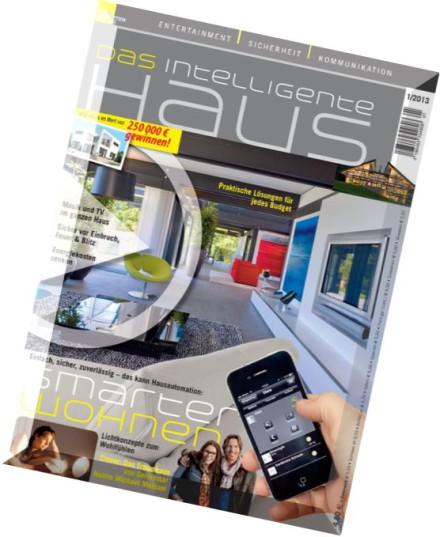 download das intelligente haus n 1 2013 pdf magazine. Black Bedroom Furniture Sets. Home Design Ideas