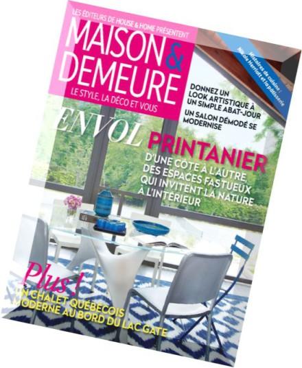Download maison demeure mai 2015 pdf magazine - Maison demeure magazine ...