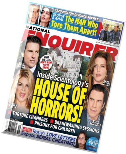 National Enquirer, accused of extortion by Amazon CEO Jeff ...