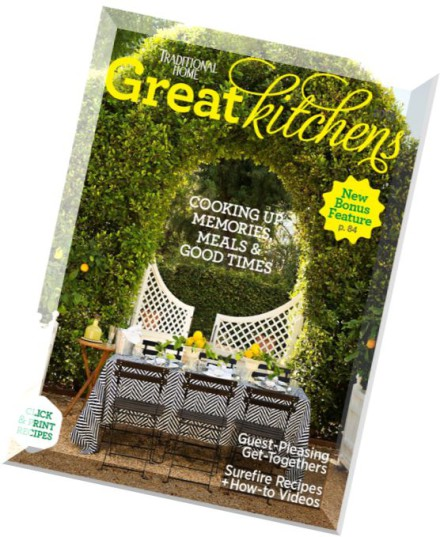 Download Traditional Home Great Kitchens 2014 Pdf Magazine
