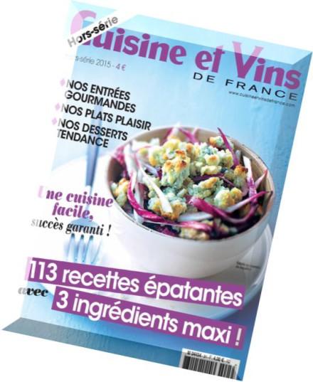 Download cuisine et vins de france hors serie n 31 pdf for Hors serie cuisine