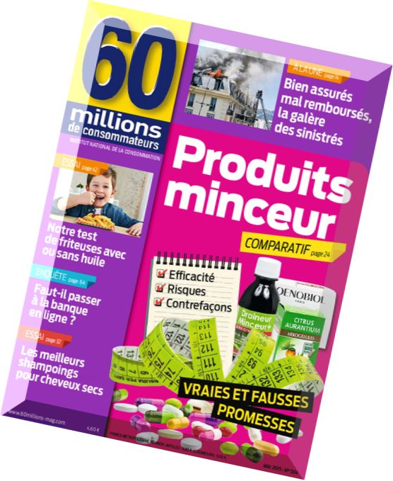 Download 60 Millions de Consommateurs N 504 – Mai 2015
