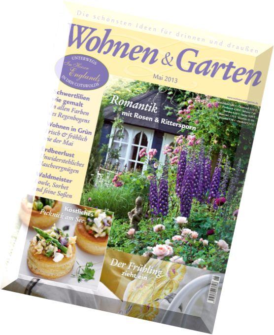 download wohnen und garten mai n 05 2013 pdf magazine. Black Bedroom Furniture Sets. Home Design Ideas