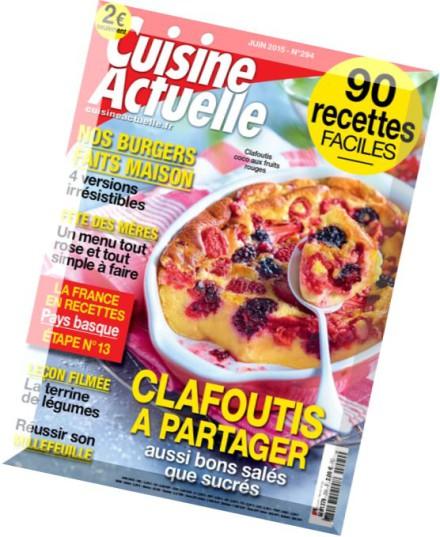 Download cuisine actuelle juin 2015 pdf magazine for Cuisine actuelle