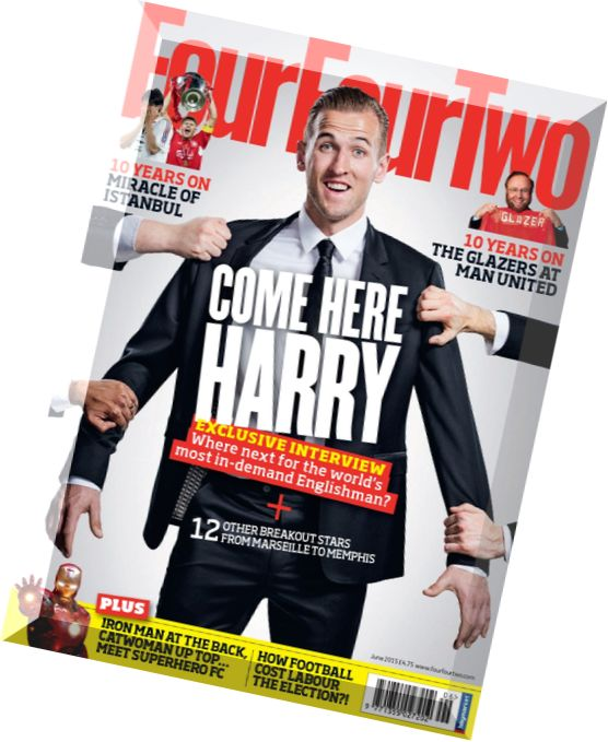 FourFourTwo June 2017 #276 NEYMAR 23 Maddest Owners CHRISTIAN ZIEGE David Luiz..