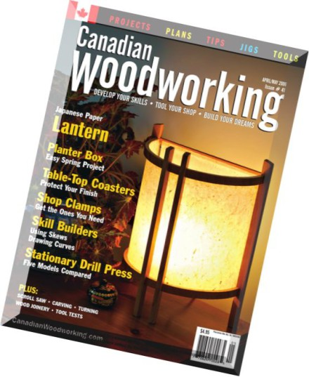 Canadian Woodworking Magazine Pdf | Small Woodworking Projects