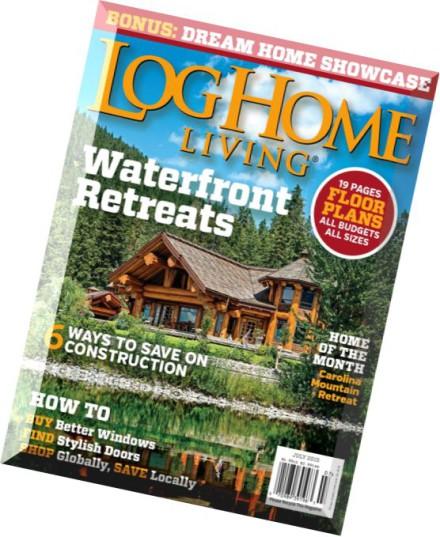 Download Log Home Living July 2015 Pdf Magazine