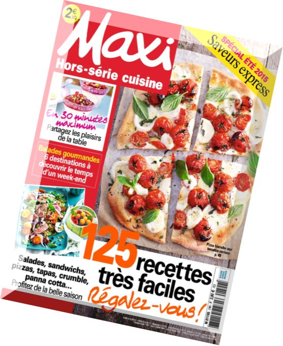 download maxi hors serie cuisine n 24 pdf magazine