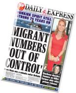Daily Express - Friday, 22 May 2015