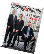 Equipment Leasing & Finance - May-June 2015