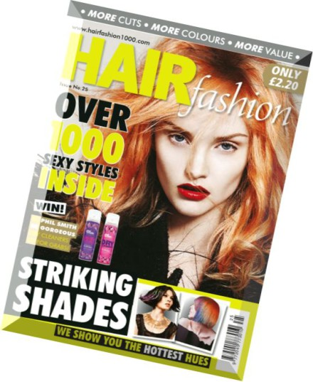 Download Hair Fashion Issue 25 2015 Pdf Magazine