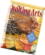 Quilting Arts Magazine - June-July 2015