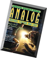 Analog Science Fiction and Fact – July-August 2015