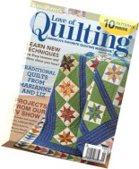 Love of Quilting - May-June 2015