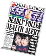 Daily Express - Tuesday, 26 May 2015