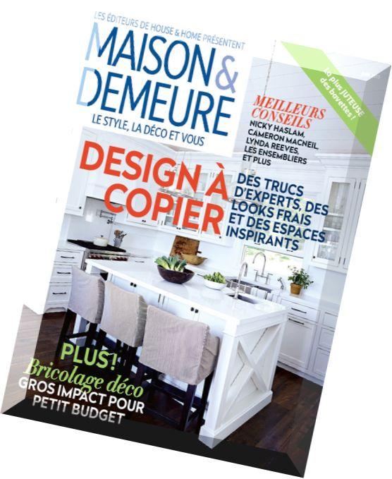 Download maison demeure juin 2015 pdf magazine - Maison demeure magazine ...