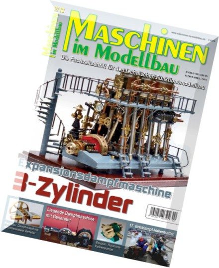 download maschinen im modellbau magazin n 02 2013 pdf magazine. Black Bedroom Furniture Sets. Home Design Ideas