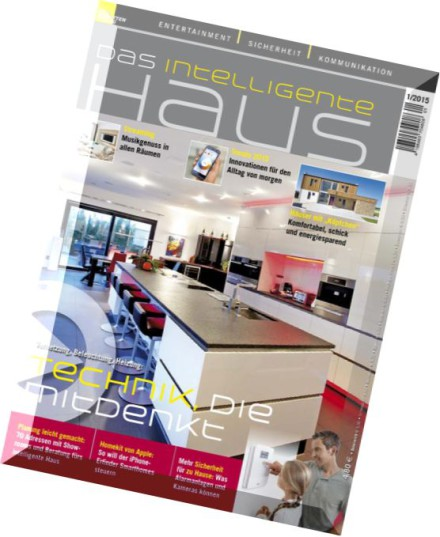 download das intelligente haus nr 1 2015 pdf magazine. Black Bedroom Furniture Sets. Home Design Ideas