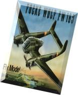 Model Kartonowy - Fly Model 055 - Focke Wulf FW 189