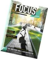 Focus Archi N 5, Juin-Juillet-Aout 2015