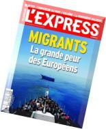 L'Express N 3334 - 27 Mai au 2 Juin 2015
