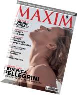 Maxim Italy - April 2014