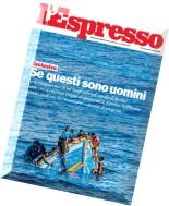 L'Espresso N 22 - 04.06.2015